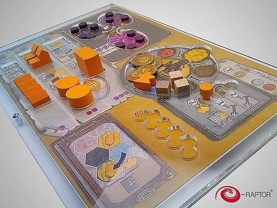 Desconocido Organizador Compatible con Juego Terra Mystica: Amazon.es: Juguetes y juegos