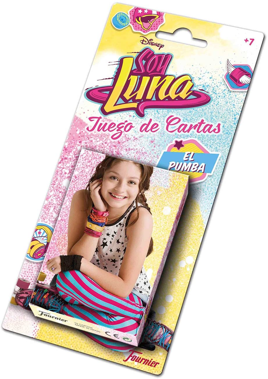 Soy Luna Baraja Infantil, Multicolor (Naipes Heraclio Fournier 1034762): Amazon.es: Juguetes y juegos