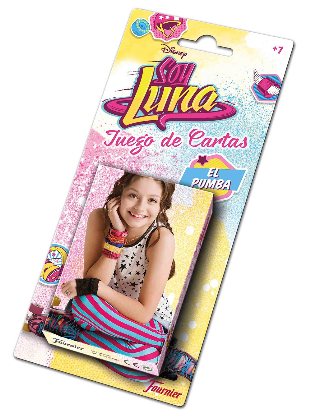 Amazon.com: Soy Luna Heraclio Fournier 1034762 Card Game for ...