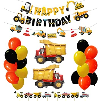 Amazon.com: Juego de decoración de fiesta de cumpleaños de ...