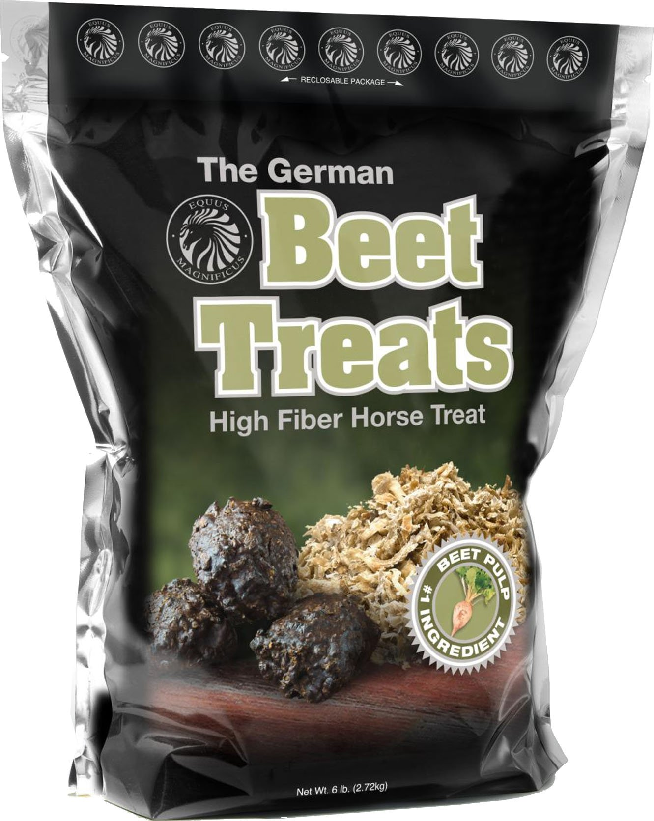 EQUUS MAGNIFICUSINC. D The German Beet Treat Green 6 Pound