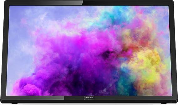TV LED PHILIPS 24PFT5303-24/60.9CM FHD 1920 X 1080 - DVB-T/T2/C - Altavoces 6W - 2XHDMI - USB - Negro: Philips: Amazon.es: Electrónica
