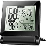 Xintop Igrometro Termometro Digitale Termoigrometro LCD Misura Temperatura & Umidità per Interno, Serra, Stanza, Casa