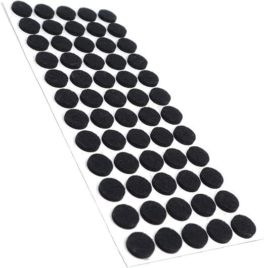 redondo con grosor de 3,5 mm de la m/áxima calidad /Ø 14 mm negro Adsamm/® 600 x almohadillas de fieltro Protectores de suelo para patas de mueble auto-adhesivos