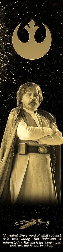 Luke Skywalker Last Jedi Star Wars Bookograph Metal Bookmark Everything Else