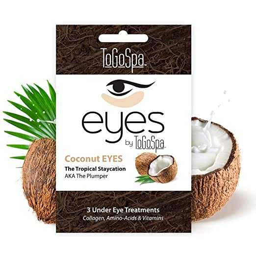 Coconut Eyes - 1 Pack - 3 Pair