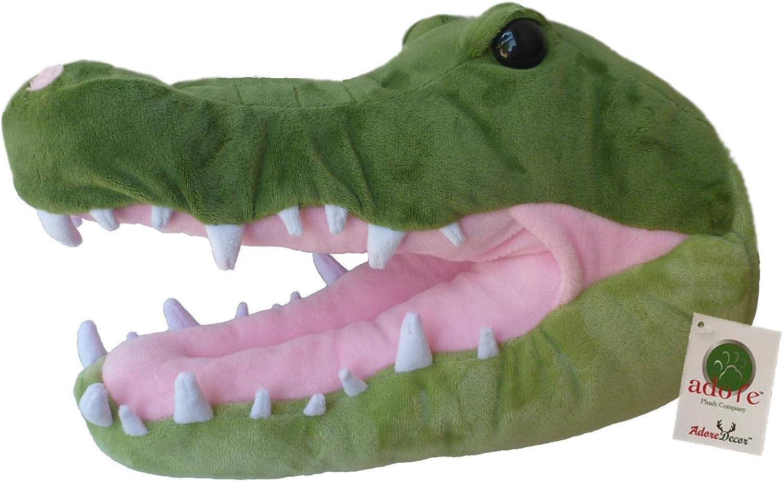 "Adore 12"" Florida The Alligator Stuffed Animal Plush Walltoy Wall Mount"