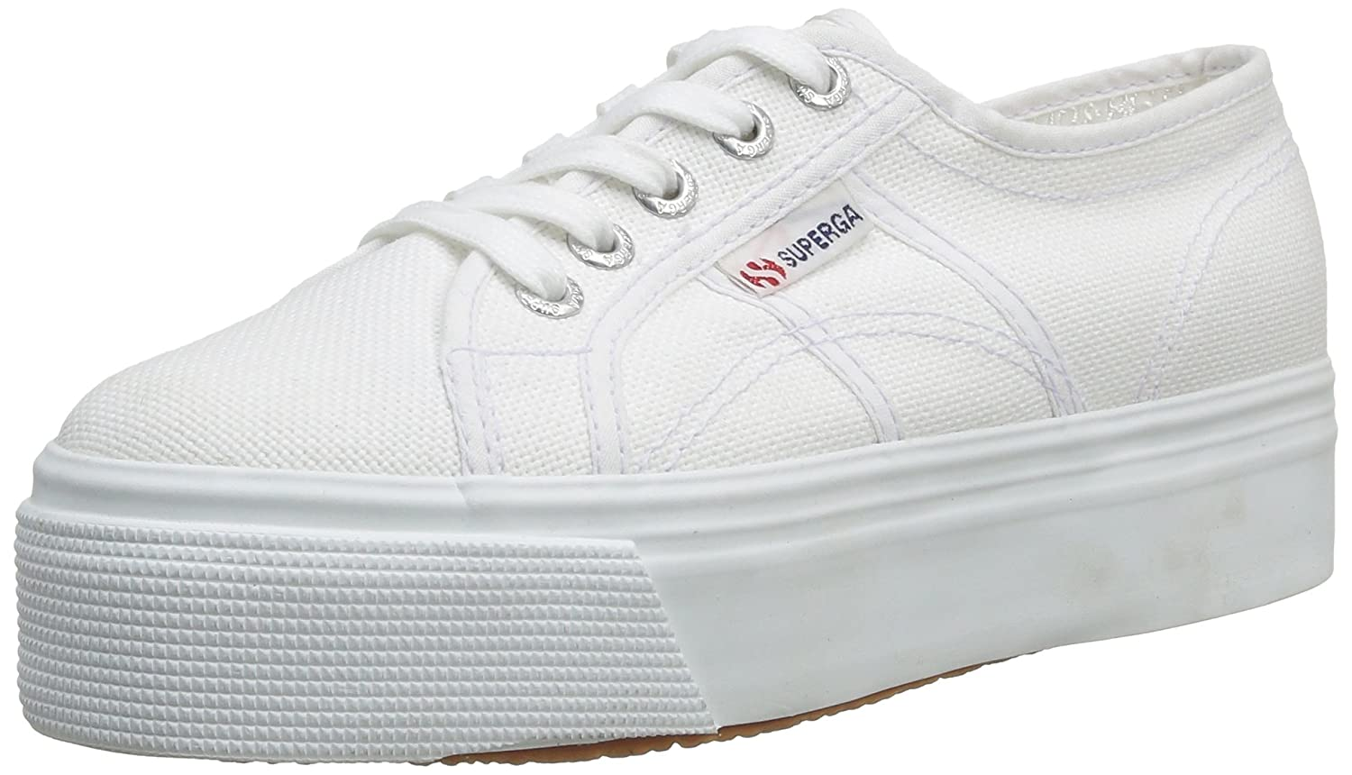 Superga 2790 Linea up and Down Womens Trainers B00BYZG1EO UK5 EU38 US7.5|White