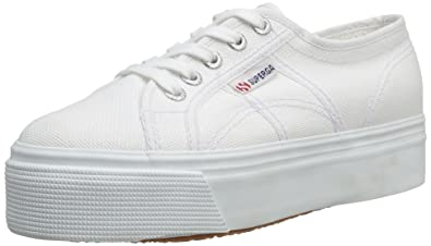 0127b57e416f51 Superga 2790 Cotw Linea Up and Down, Sneakers Basses femme, Blanc (901 White
