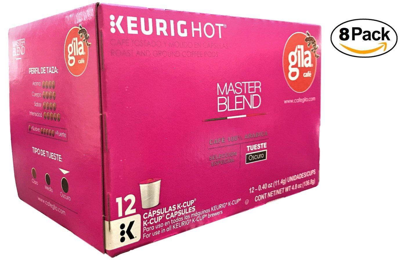 Café Gila Master Blend Coffee Single Serve Pods, 12 Count Box (24 Pods): Amazon.com: Grocery & Gourmet Food