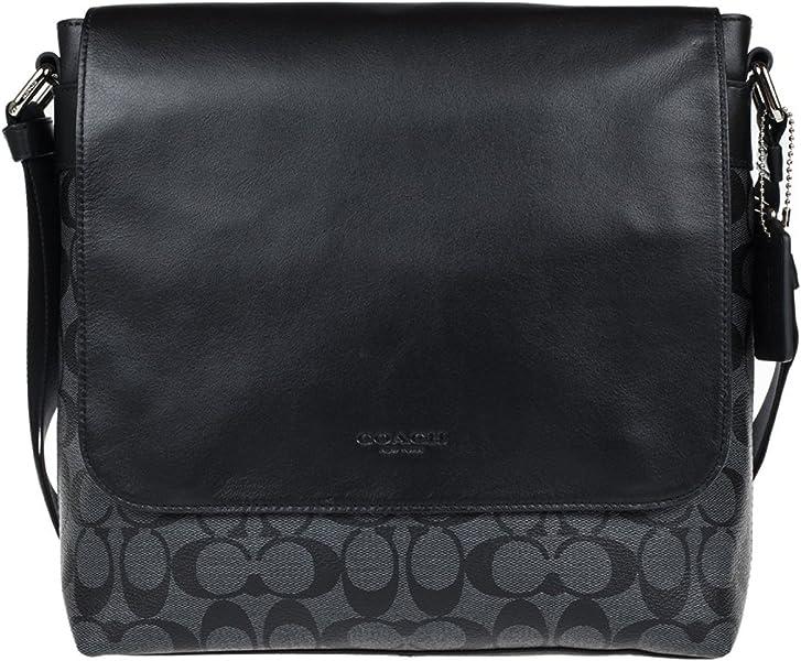 ... Mens PVC Handbag Crossbody size 40 9ab29 78c95  Coach Mens Flight  Crossbody Bag in Signature ... a013014ca7957
