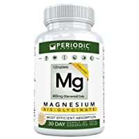 Chelated Magnesium Supplements Bisglycinate • Harvard Studied Absorption • Dual...