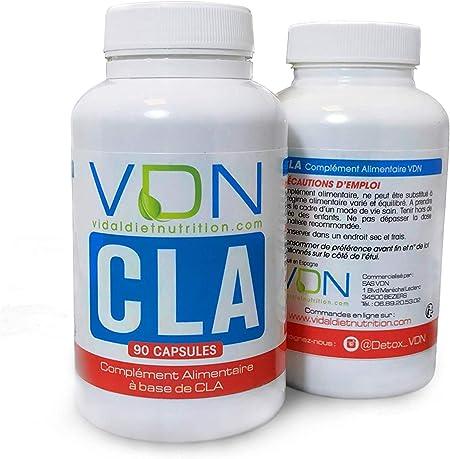 Cla Acide Linoleique Conjugue Huile Vegetale De Carthame Omega 6 Gestion Du Poids Vdn Amazon Fr Hygiasne Et Soins Du Corps