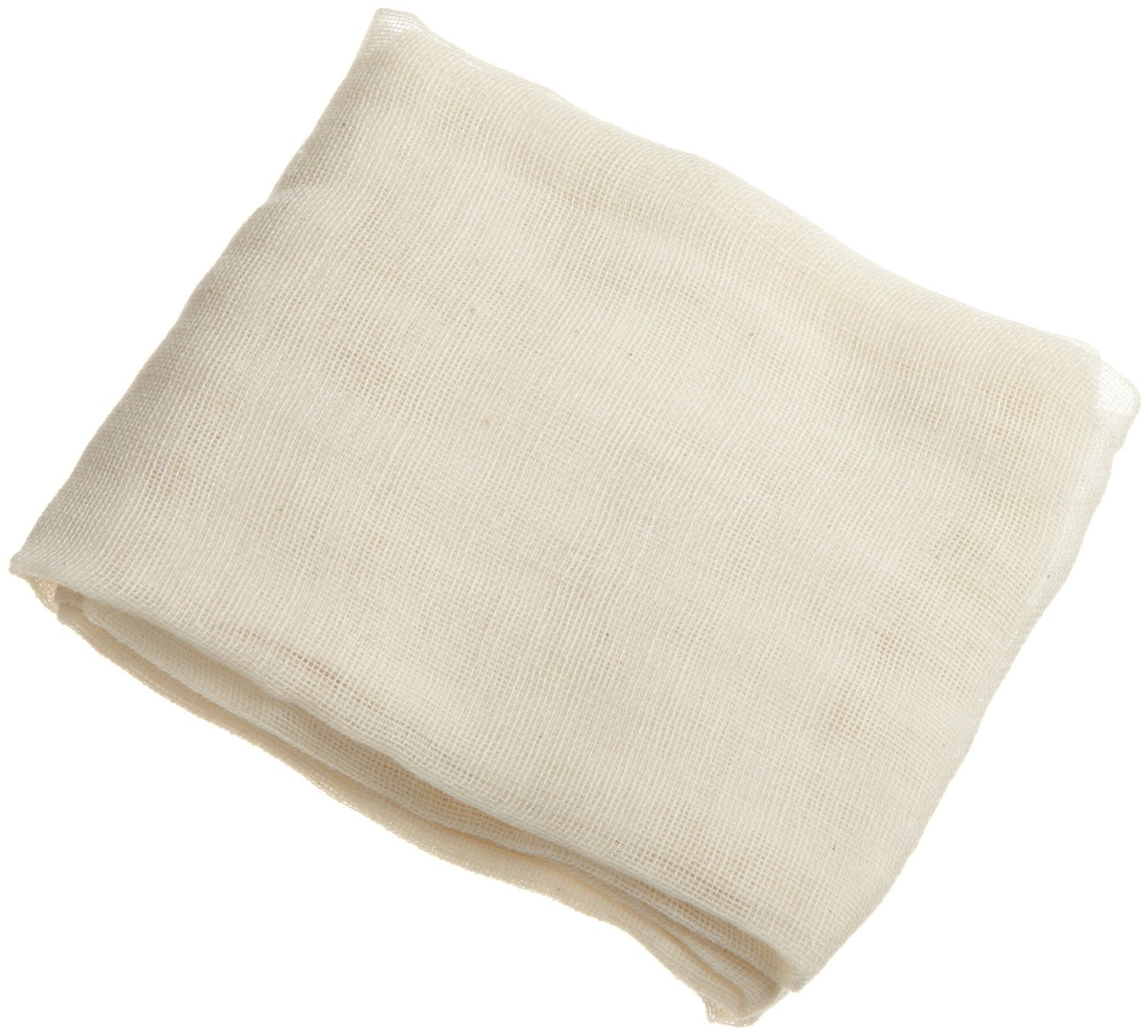 Unbleached Cheesecloth 9 Sq ft 100% Cotton Reusable-Great Filter or Strainer for Cheese/Kombucha scoby/Glass jar/Wine making