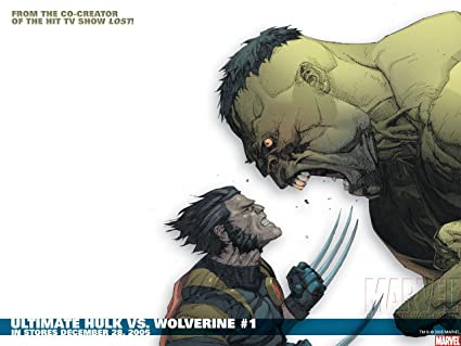 Posterhouzz Comics Hulk Vs Wolverine HD Wallpaper Background Fine Art Paper Print Poster