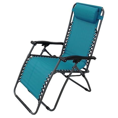 Sdraio Pieghevole Relax.Cosma Poltrona Sedia Sdraio Pieghevole Relax Reclinabile In Acciaio Per Esterno Comfort