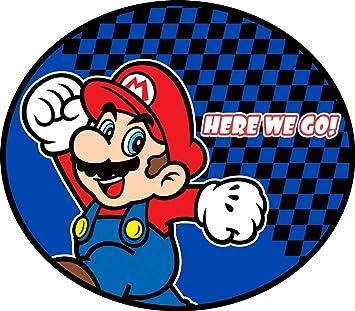 Nintendo Super Mario Rules Rug for Children