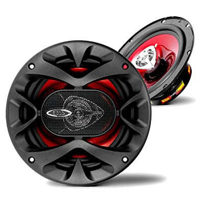 BOSS Audio Systems CH6520 Car Speakers - 250 Watts of Power Per Pair, 125 Watts Each, 6.5 Inch, Full Range, 2 Way, Sold in Pairs: Car Electronics