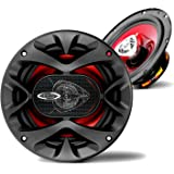 BOSS Audio Systems CH6520 Car Speakers - 250 Watts of Power Per Pair, 125 Watts Each, 6.5 Inch, Full Range, 2 Way, Sold in Pa