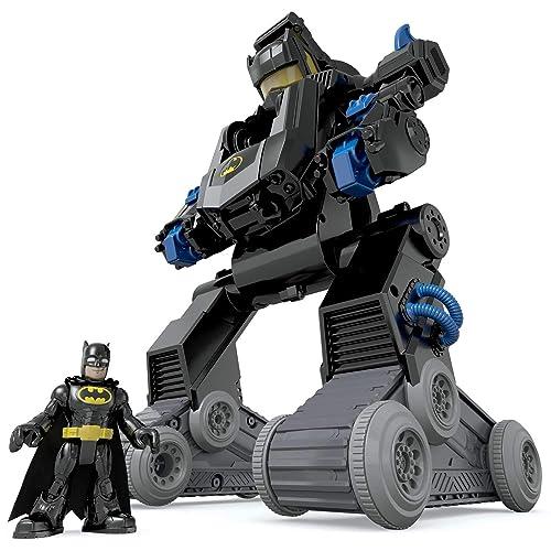 Imaginext Batman Bat Robot transformable Juguete para niño 3 años Mattel DMT82