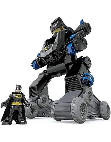Imaginext Batman, Bat-Robot transformable, Juguete para niño +3 años (Mattel