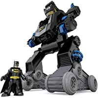 Imaginext Batman, Bat-Robot transformable, Juguete para niño +3