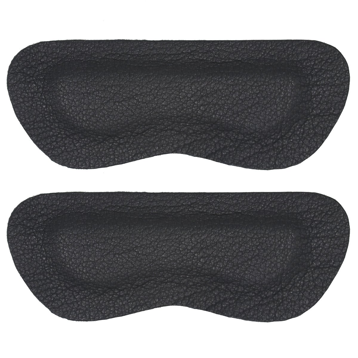 Heel Liner Heel Pads Liners Grips Inserts Cushions for Shoes too Big Women Men,Sheepskin Prevent blisters,Shoe Filler Improved Shoe Fit and Comfort,2Pairs(Black, Thick)