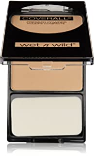 Wnw Coverall 825b Pwdr Me Size .26oz Wet N Wild Coverall Pressed Powder Medium 825b