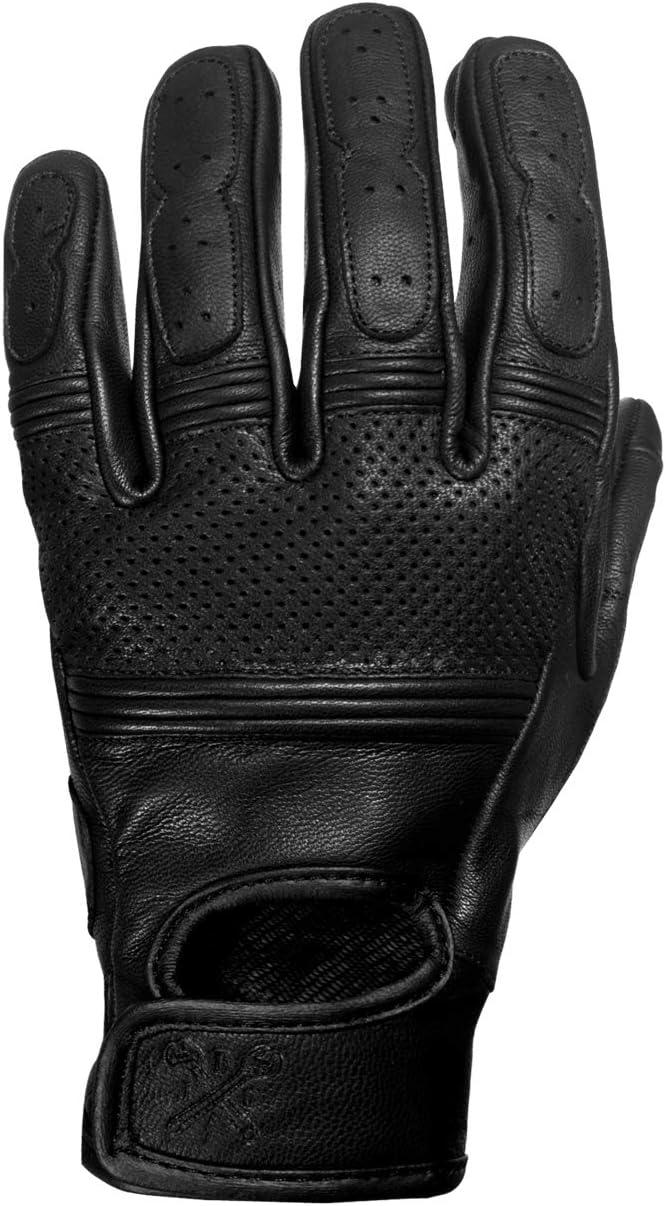 Innenseite mit Kevlar Handschuh aus Rindsleder John Doe Motorrad Handschuh Atmungsaktiv