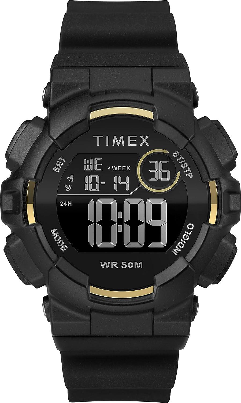 Timex Reloj Mujer de Digital con Correa en Silicona TW5M23600