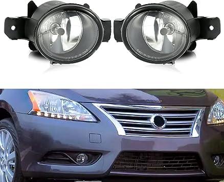 OEM Front Bumper Fog Light Lamp w//Bulb Right Side For Nissan Sentra 2013-2015