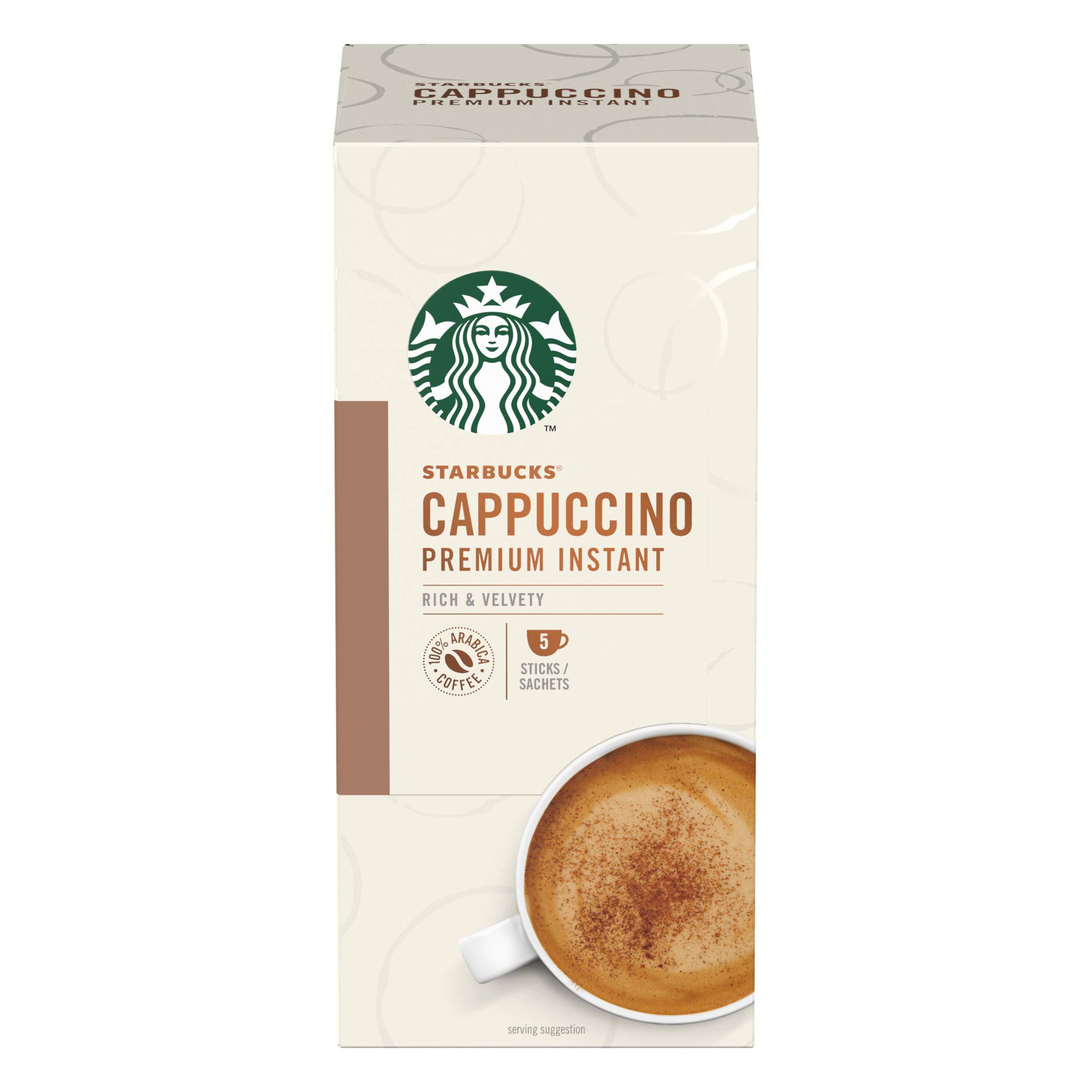 New - Starbucks Instant Coffee - Cappuccino