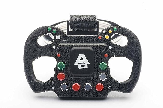 Amazon.com: F1 Volante nuevo diseño carabina Llavero by ...