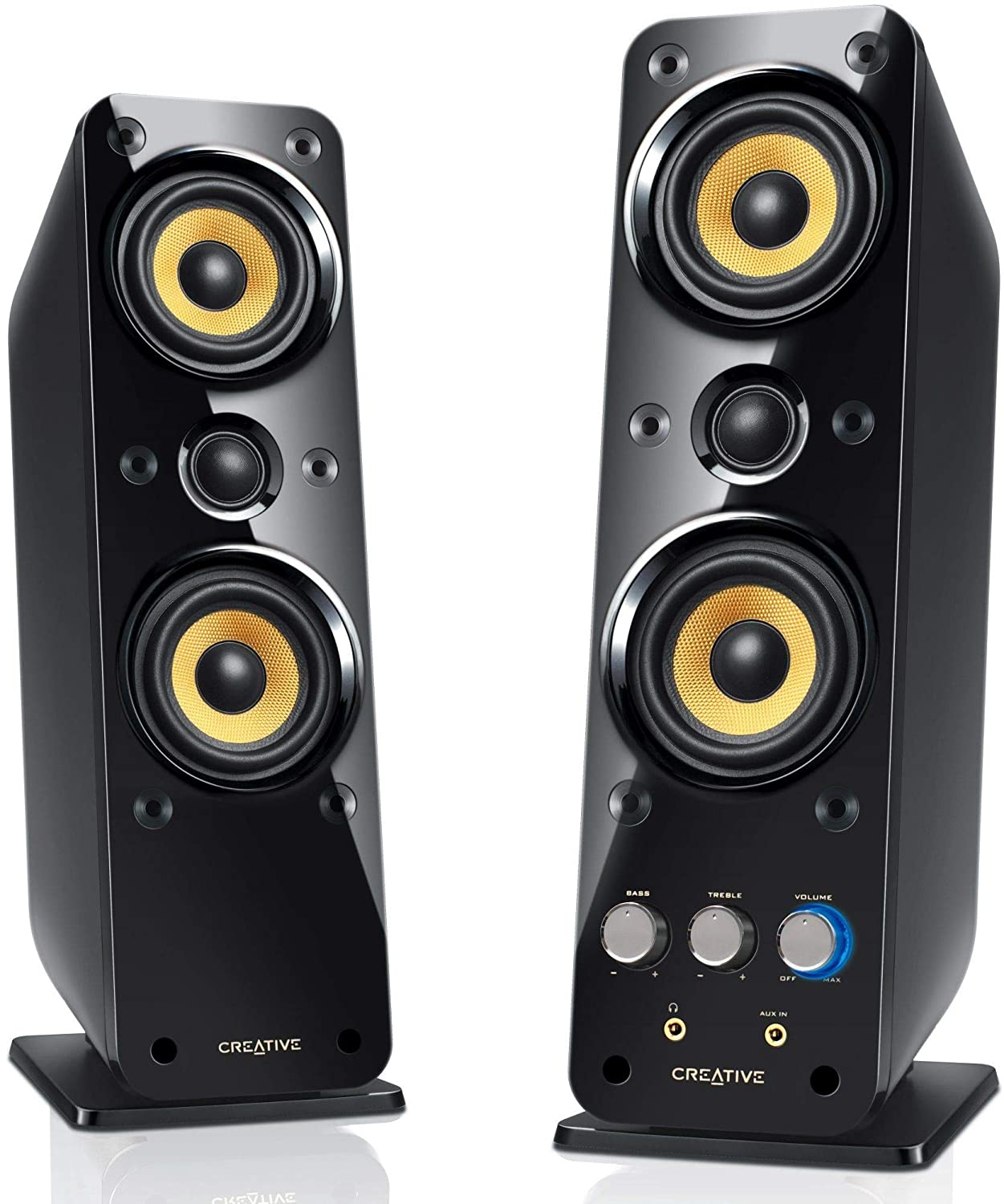 Creative GigaWorks T40 Series II 2.0 Multimedia Speaker System with BasXPort Technology 51MF1615AA002