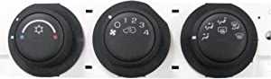 ACDelco 15-73909 GM Original Equipment Heating and Air Conditioning Control Panel with Rear Window Defogger Switch