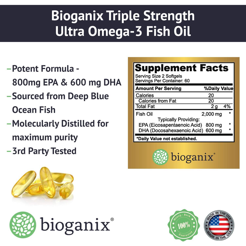 Amazon.com: Omega 3 - Aceite de pescado de grado ...