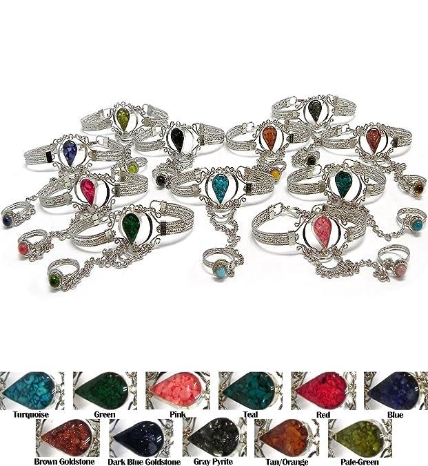 Amazon.com: Mia Jewel Shop - Pulsera de plata con ...