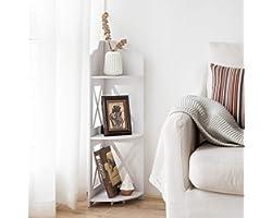 Corner Shelf,Corner Ladder Shelf for Living Room,Corner Shower Shelf for Bathroom Storage,Shower Caddy for Small Bathroom,Mul