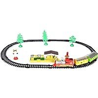 Pick & Pick Train Track Play Set (Multi-Color | 24 Pieces)