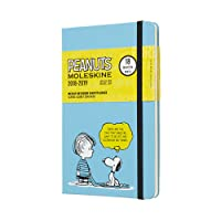 Moleskine. 18 month weekly notebook. Peanuts limited edition large blue pocket