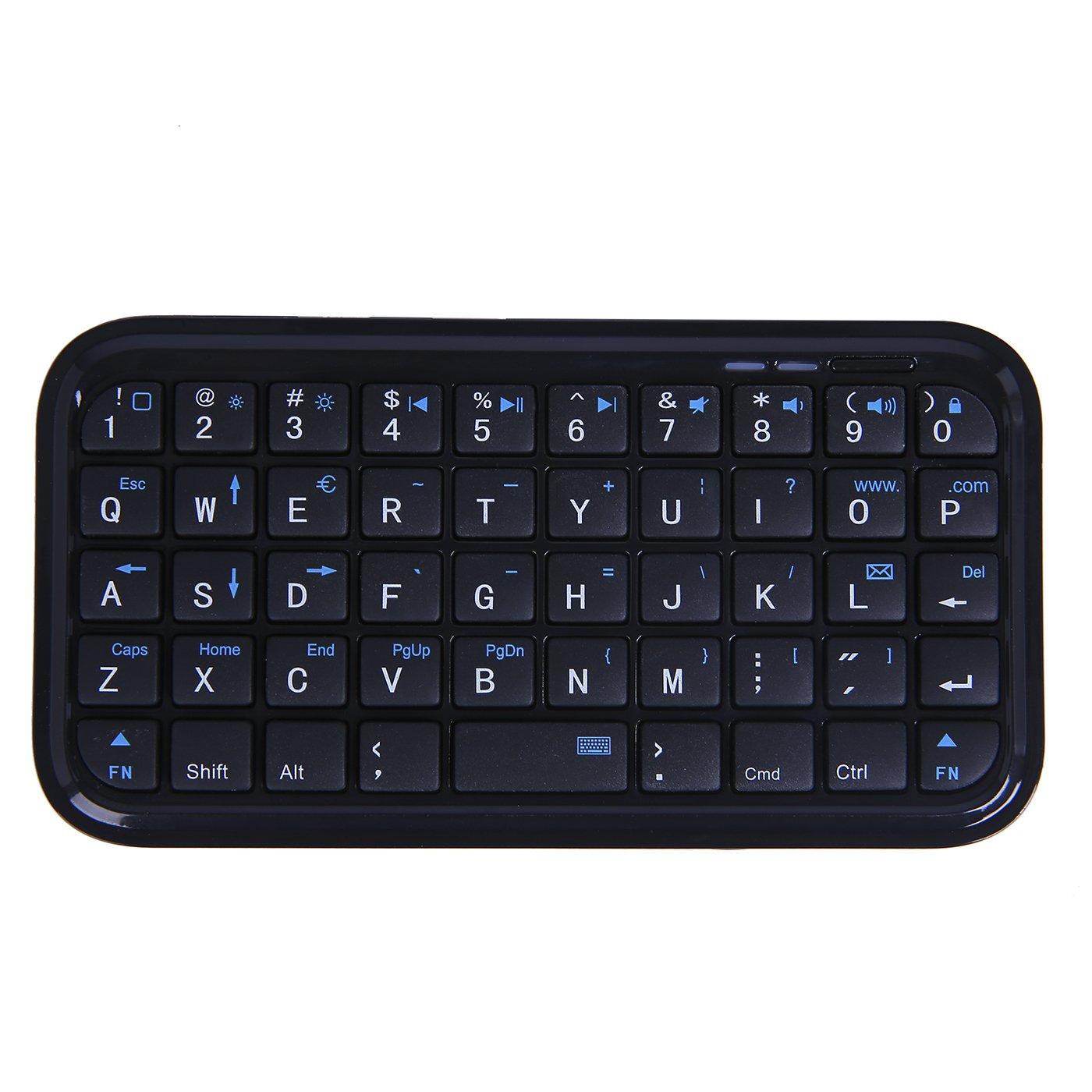 HDE Bluetooth 3 0 Keyboard Mini Travel Size Wireless: Amazon