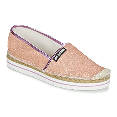 5e632c347 Love Moschino Women's Espadrilles Pink Pink Pink Size: 5.5-6: Amazon ...