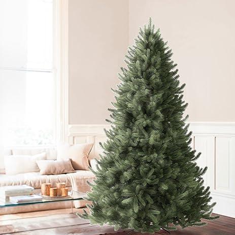 Balsam Hill Vermont White Spruce Premium Artificial Christmas Tree, 7.5  Feet, Unlit