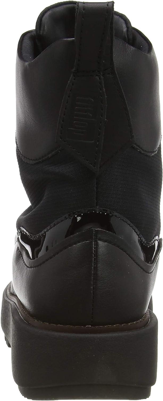 Fitflop Skandi Mimmi, Bottes Classiques Femme Noir All Black 090