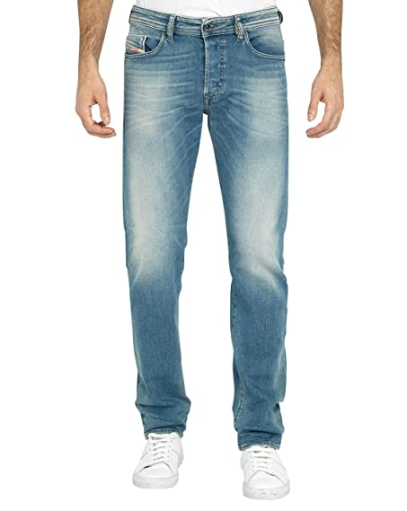 Mens Buster Tapered Fit Jeans Diesel