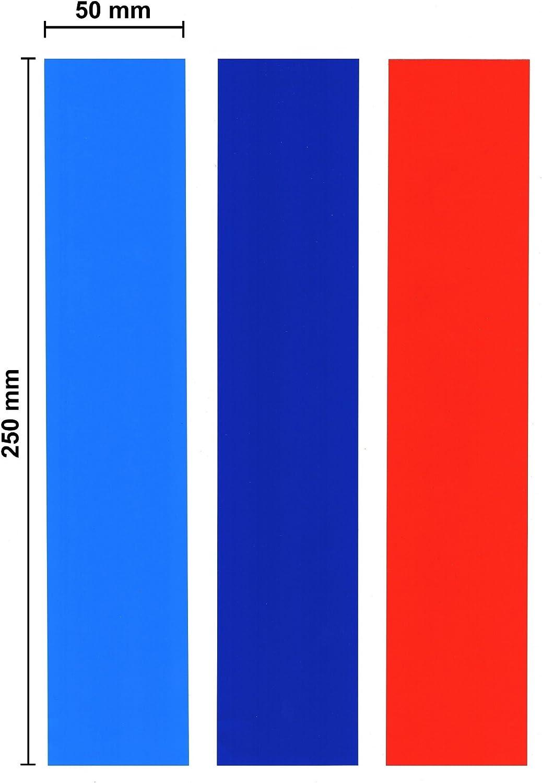 Stripes Dark Blue Red For All Bmw M3 M5 Model M Amazon De Auto