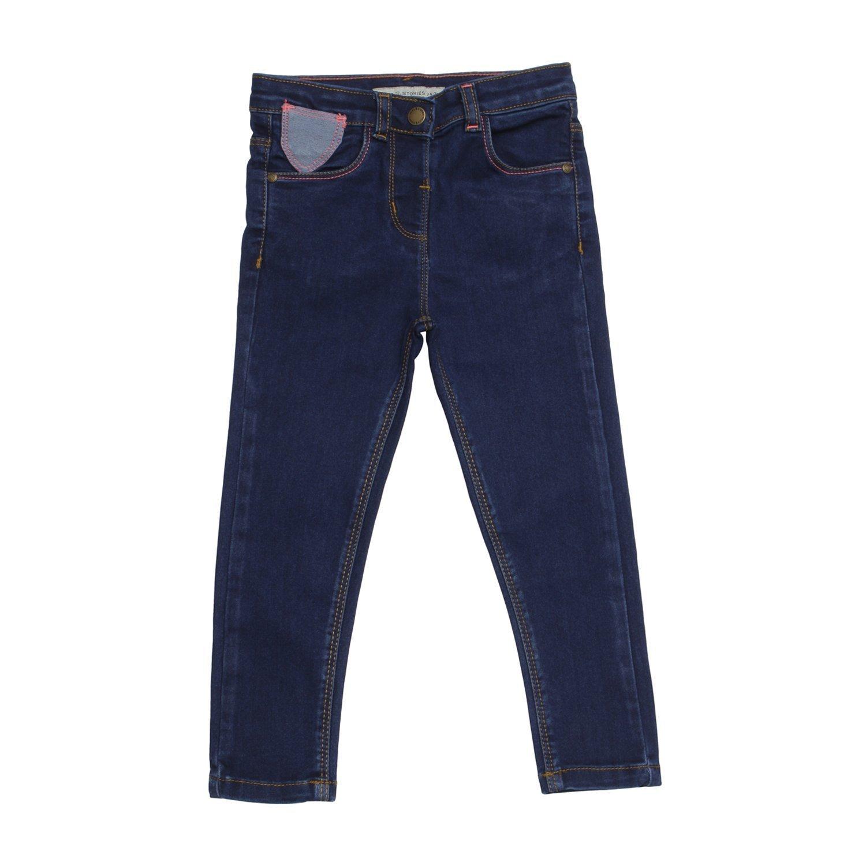 Tales /& Stories Boys Cotton Polyster Elastane Plain Slim Fit Clean Look Jeans