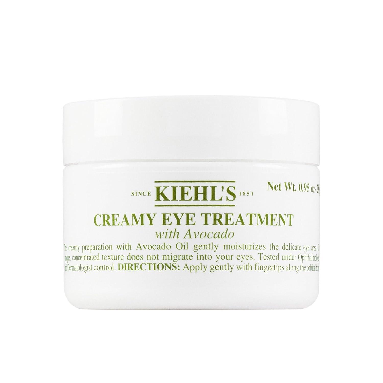 Kiehl's - Crème Traitement Contour des Yeux - Pour peaux sensibles - à l'avocat - 28ml Kiehl' s 3605970236915