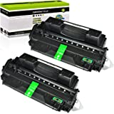 GREENCYCLE 2 Pack High Yield 10A Q2610A Toner Cartridge Replacement Compatible for HP Laserjet 2300 2300d 2300dn 2300dtn 2300