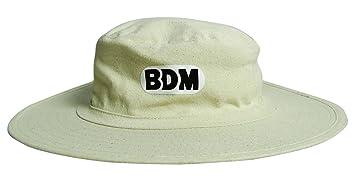 amazon com bdm cricket panama hat brim sports cap head wear